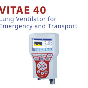 VITAE 40 – LUNG VENTILATOR FOR EMERGENCY AND TRANSPORT