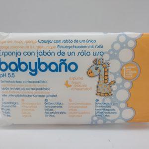 Single Use Soapy Sponge – Babycare – Unit package