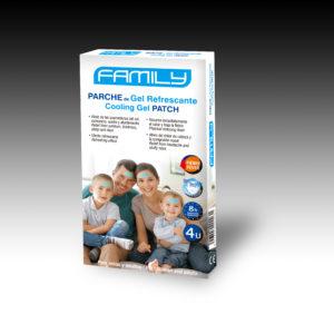 Parche de gel refrescante FAMILY