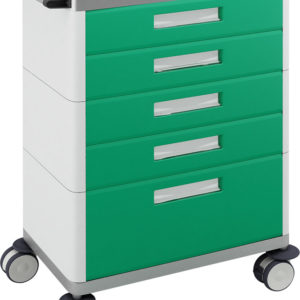 H 775 - multifunction trolley with drawers